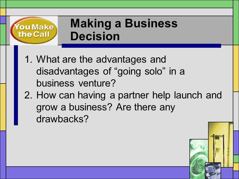 Making a Business Decision