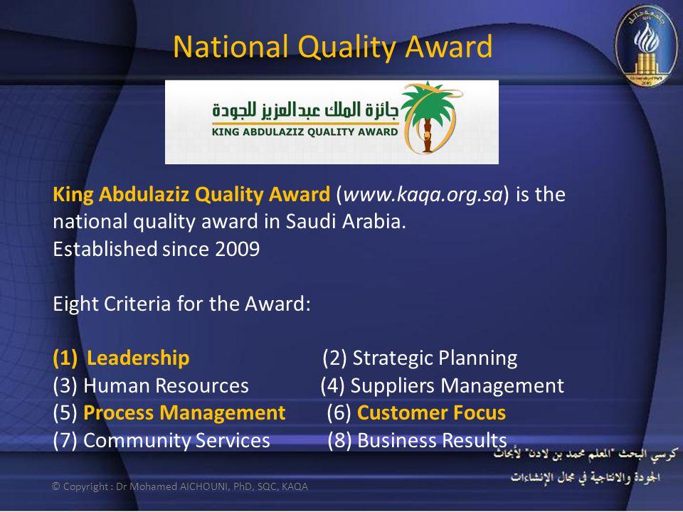 National Quality Award