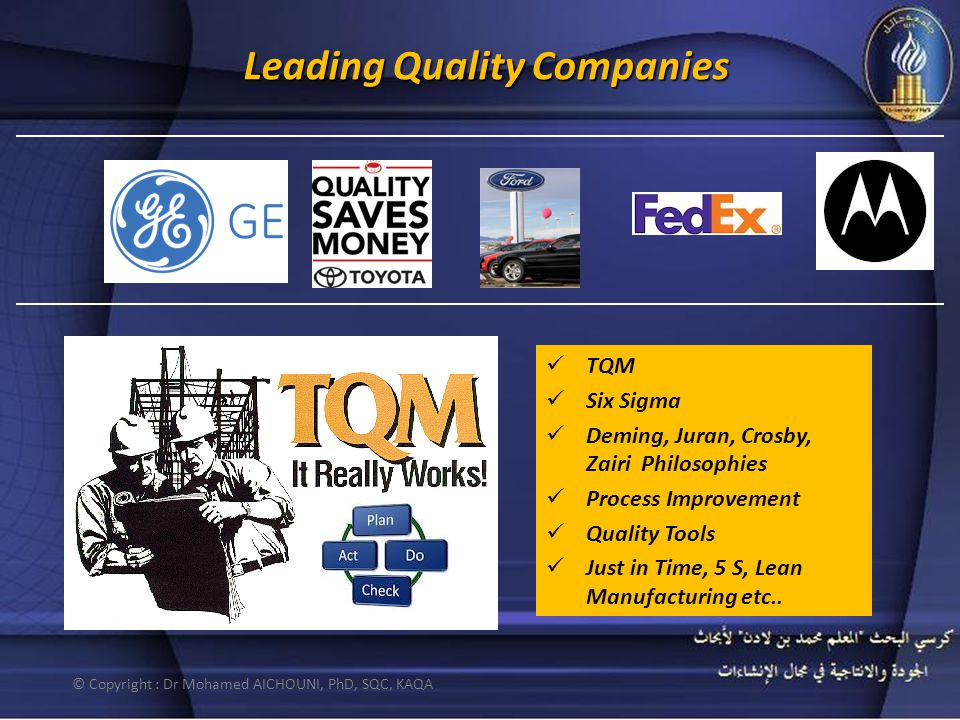 Leading Quality Companies