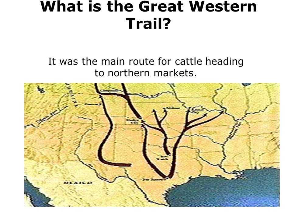 What is the Great Western Trail