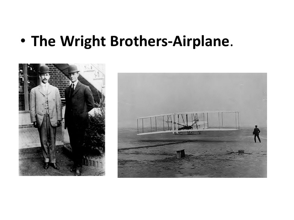 The Wright Brothers-Airplane.