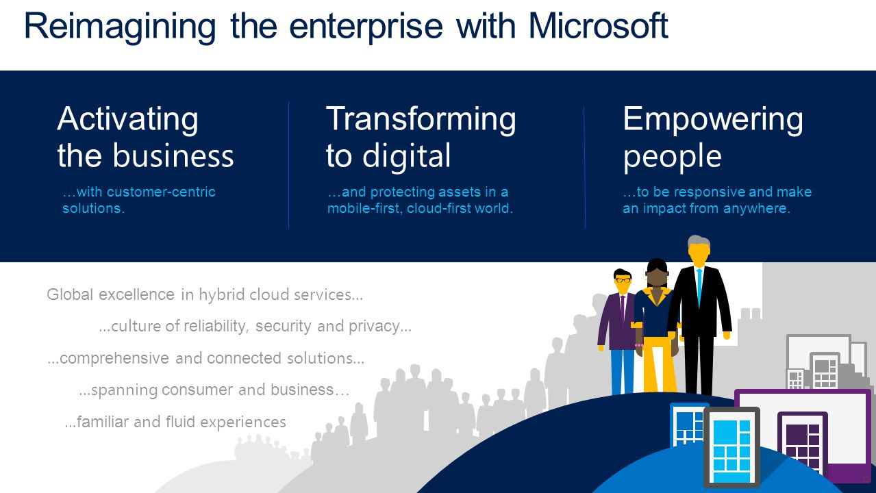Reimagining the enterprise with Microsoft