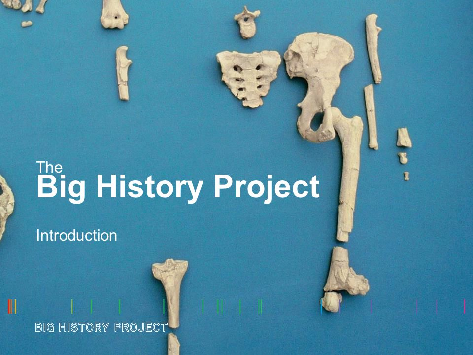 The Big History Project Introduction