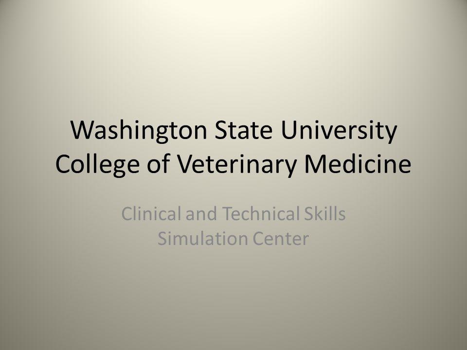 Washington State University College of Veterinary Medicine