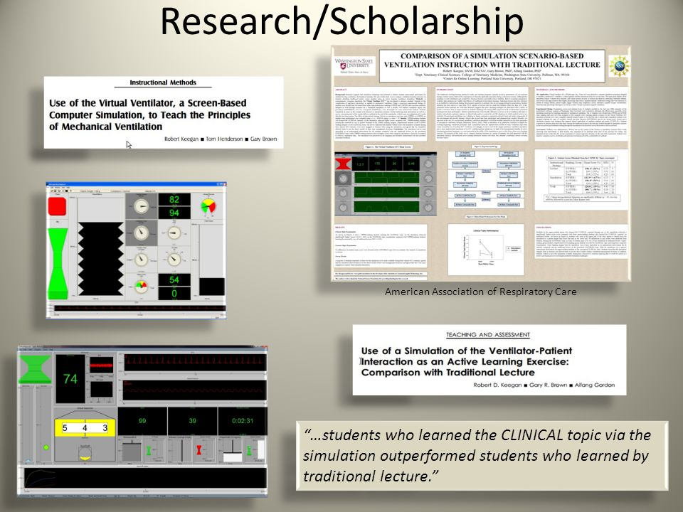Research/Scholarship