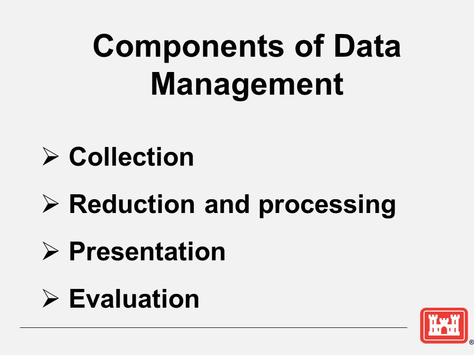 Components of Data Management
