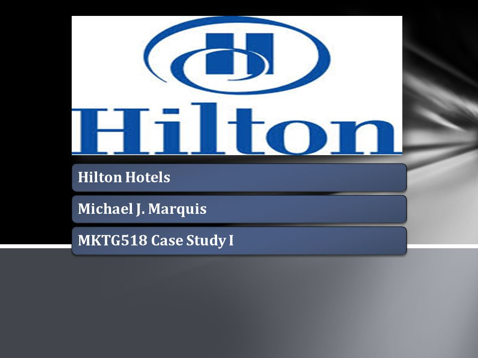 hilton hotel crm case study This video is made using goanimation for case study project on hilton onq hilton crm video hilton el hilton hotel & suites niagara falls.