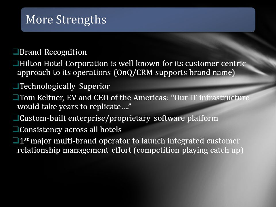 More Strengths Brand Recognition