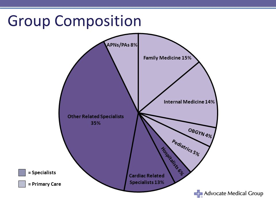 Group Composition PIE CHART