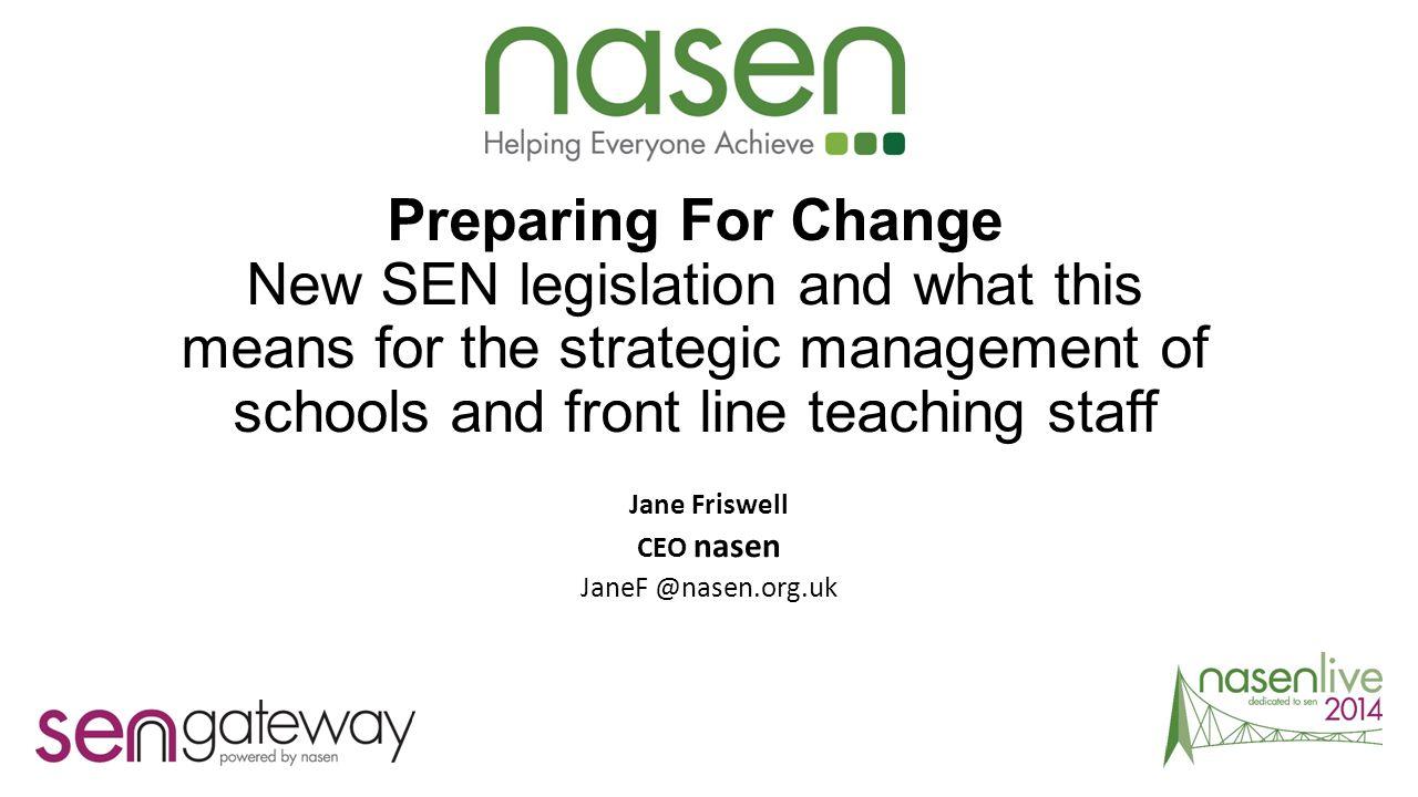 Jane Friswell CEO nasen JaneF @nasen.org.uk