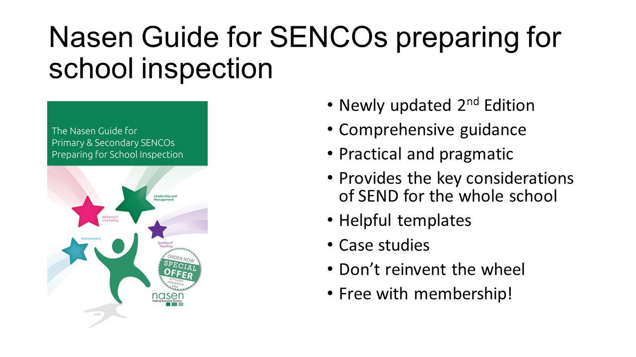 Nasen Guide for SENCOs preparing for school inspection