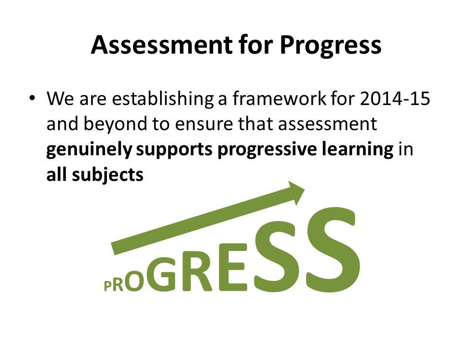 Assessment for Progress