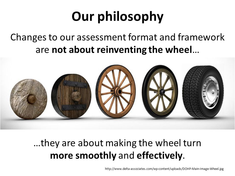 …they are about making the wheel turn more smoothly and effectively.