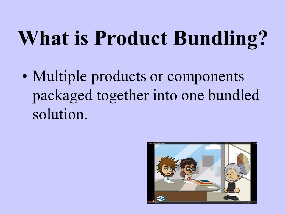 What is Product Bundling