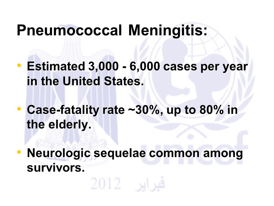 Pneumococcal Meningitis: