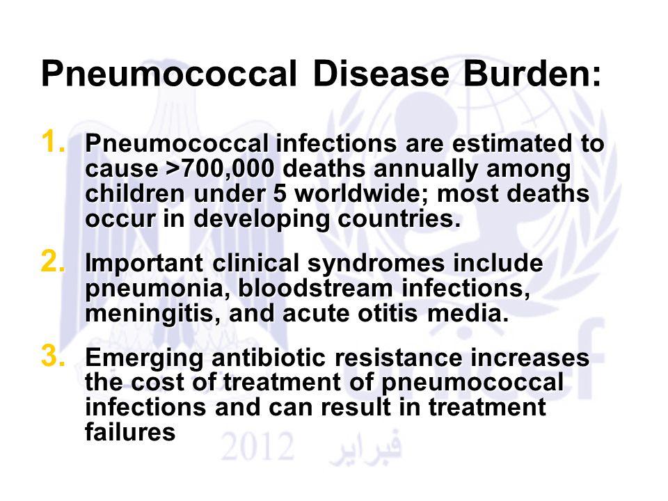 Pneumococcal Disease Burden: