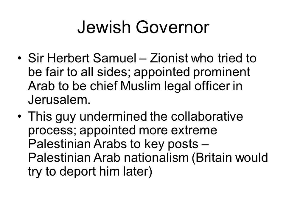 Jewish Governor