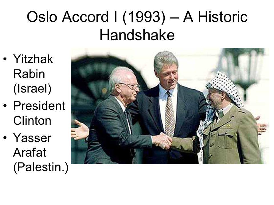 Oslo Accord I (1993) – A Historic Handshake