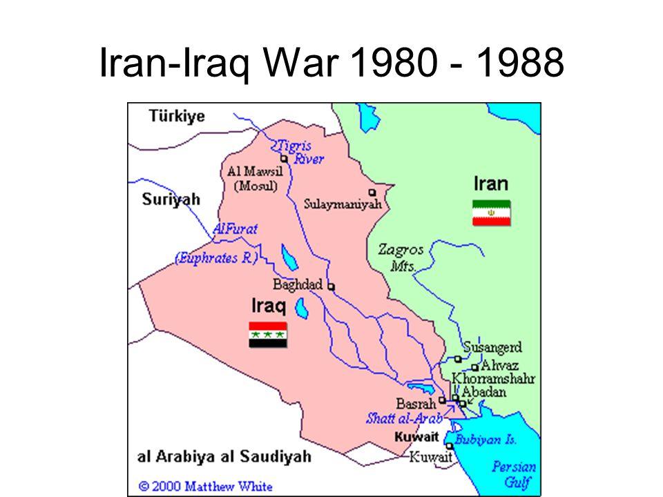 Iran-Iraq War 1980 - 1988