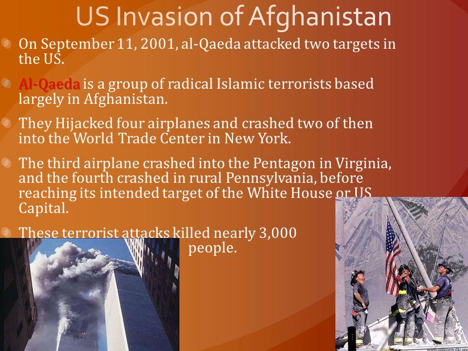 US Invasion of Afghanistan