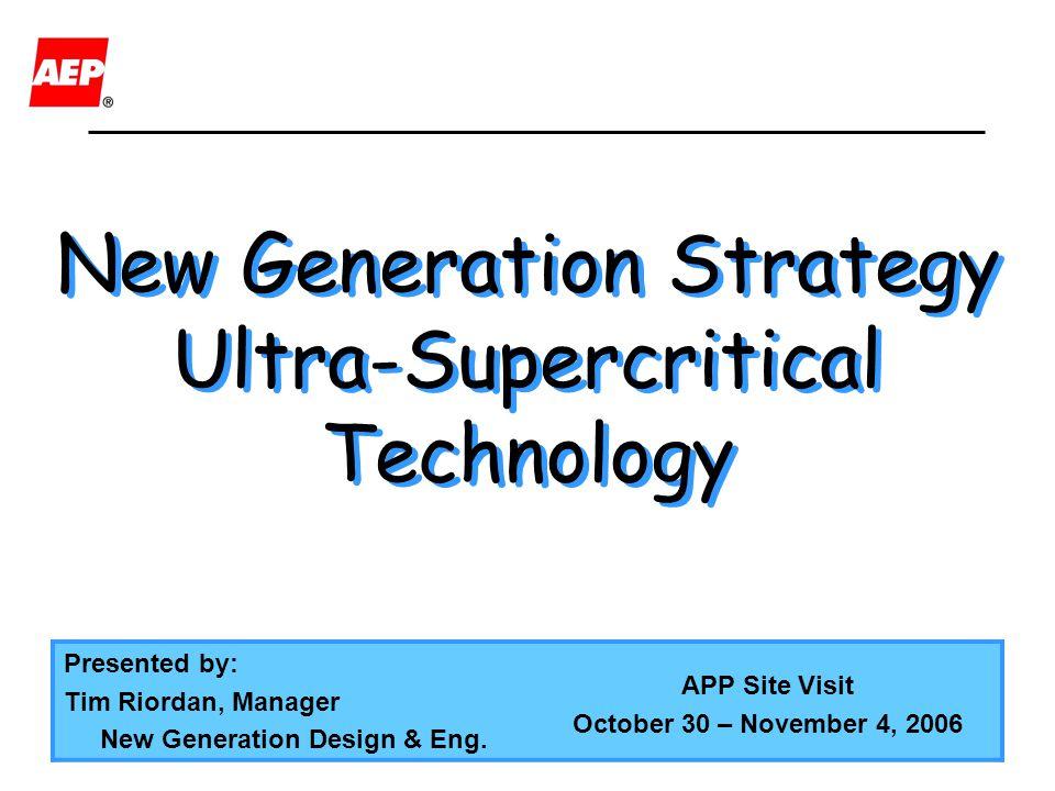 New Generation Strategy
