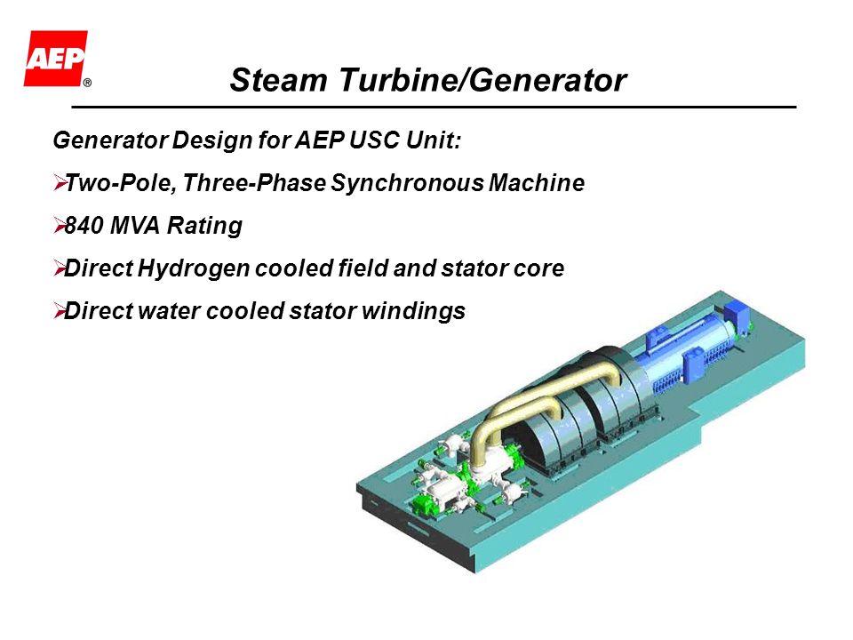 Steam Turbine/Generator