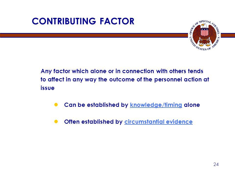 Apr-17 CONTRIBUTING FACTOR.