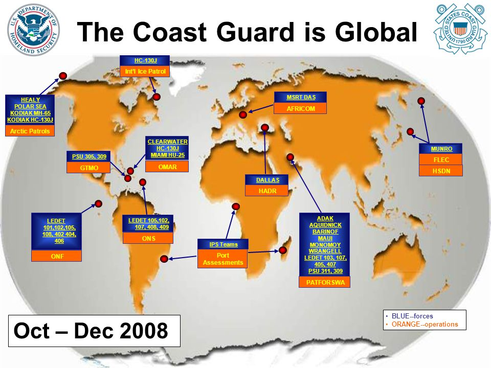 The Coast Guard is Global