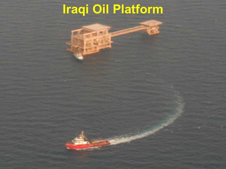 Iraqi Oil Platform 13