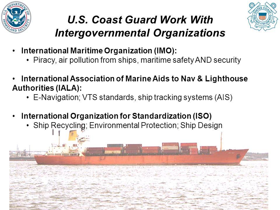 U.S. Coast Guard Work With Intergovernmental Organizations