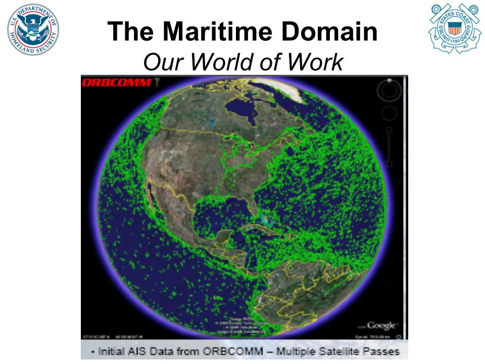 The Maritime Domain Our World of Work