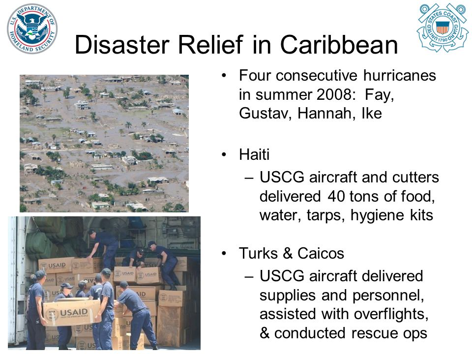 Disaster Relief in Caribbean