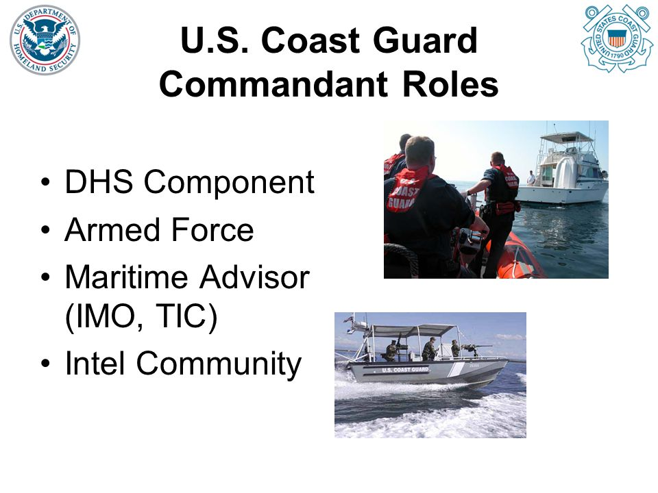 U.S. Coast Guard Commandant Roles