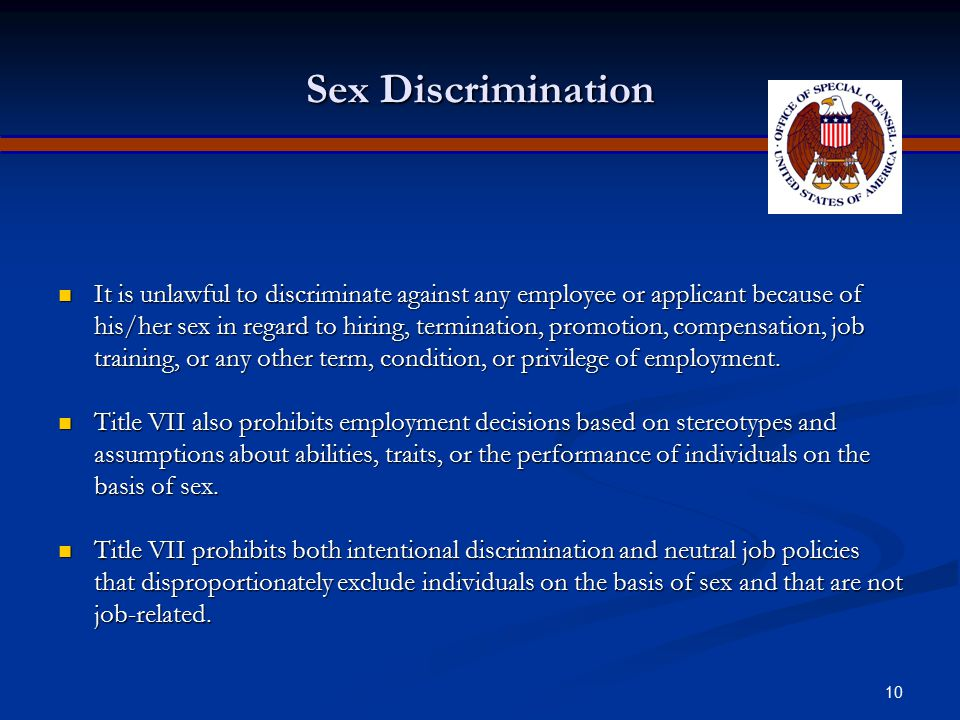 Apr-17 Sex Discrimination.