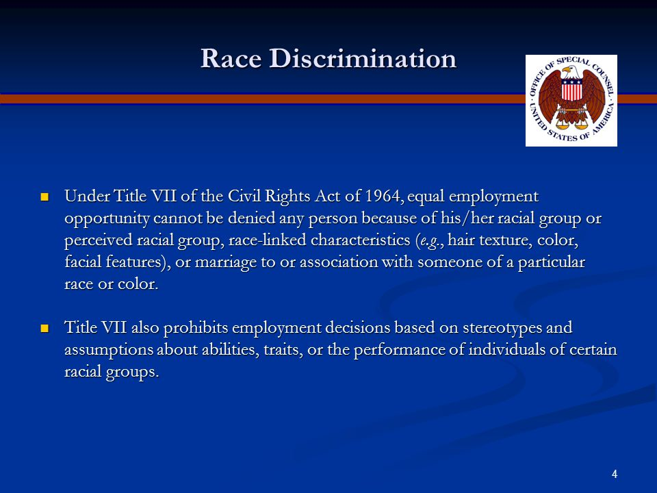 Apr-17 Race Discrimination.