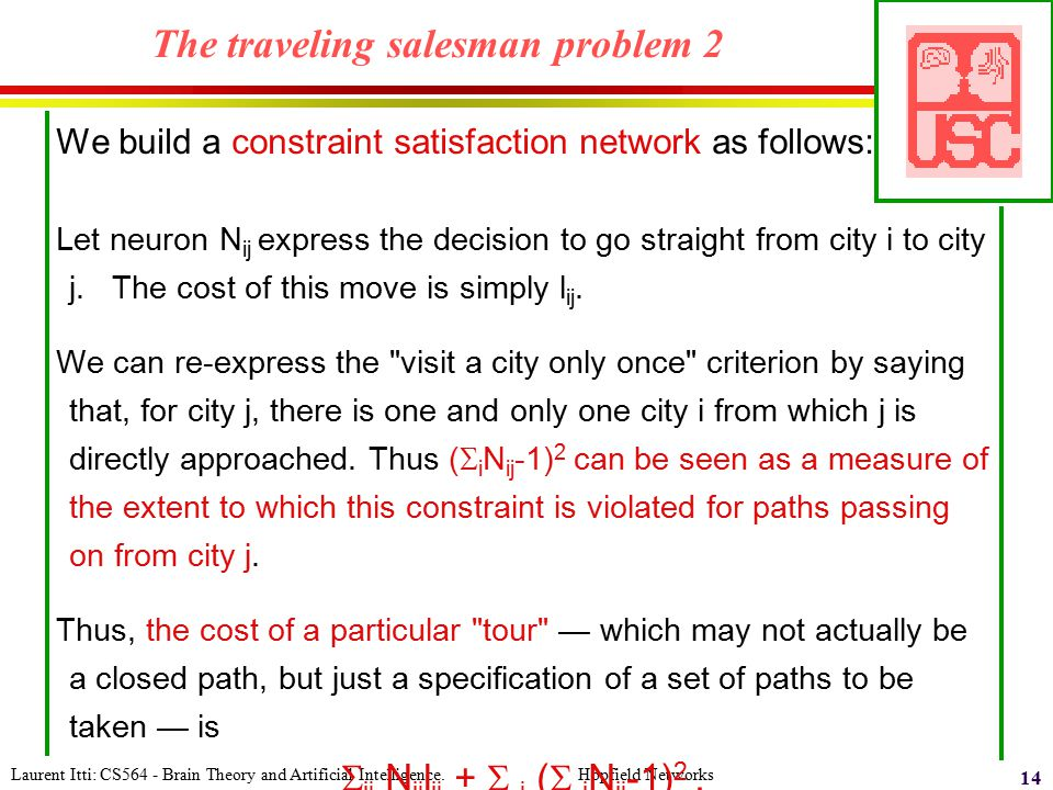 The traveling salesman problem 2