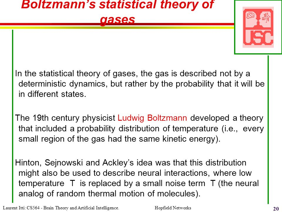 Boltzmann's statistical theory of gases