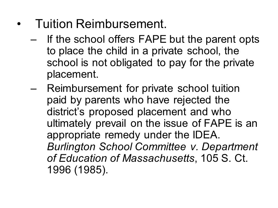 Tuition Reimbursement.