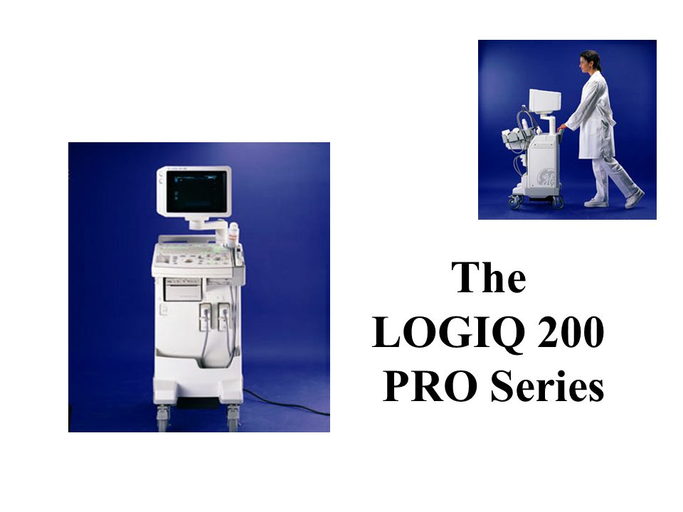 The LOGIQ 200 PRO Series