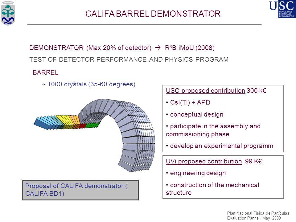 CALIFA BARREL DEMONSTRATOR