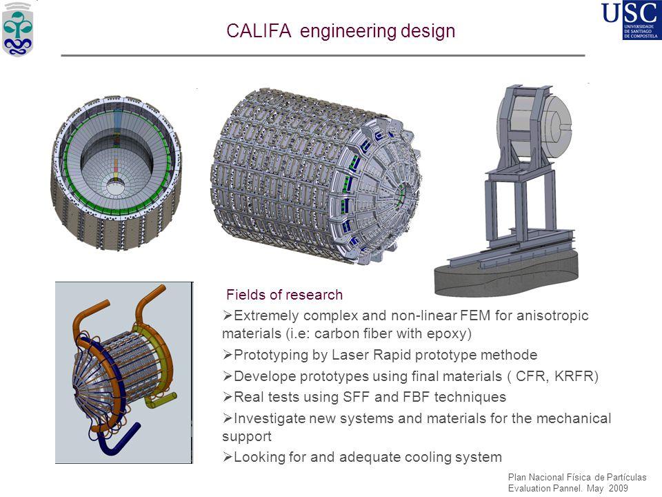 CALIFA engineering design
