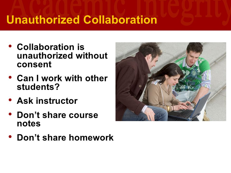 Unauthorized Collaboration