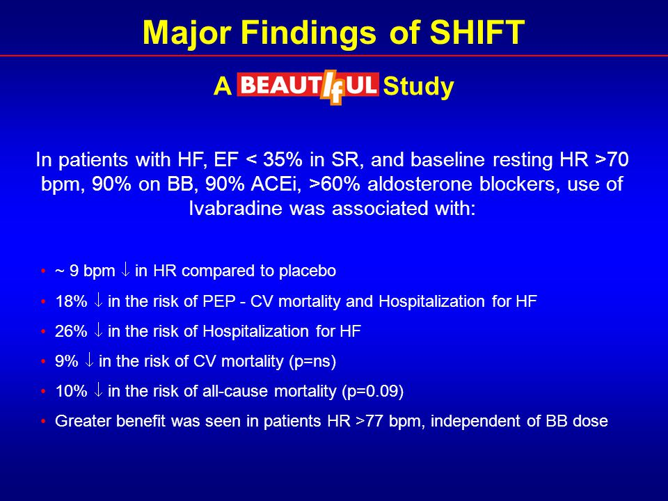Major Findings of SHIFT