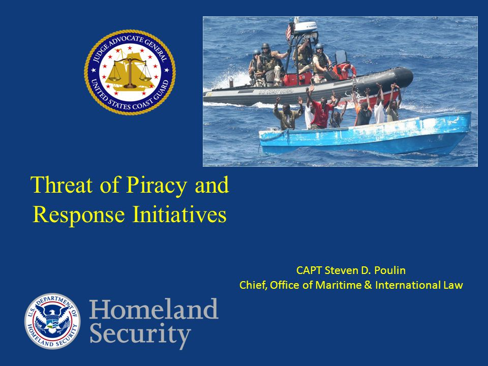 Threat of Piracy and Response Initiatives
