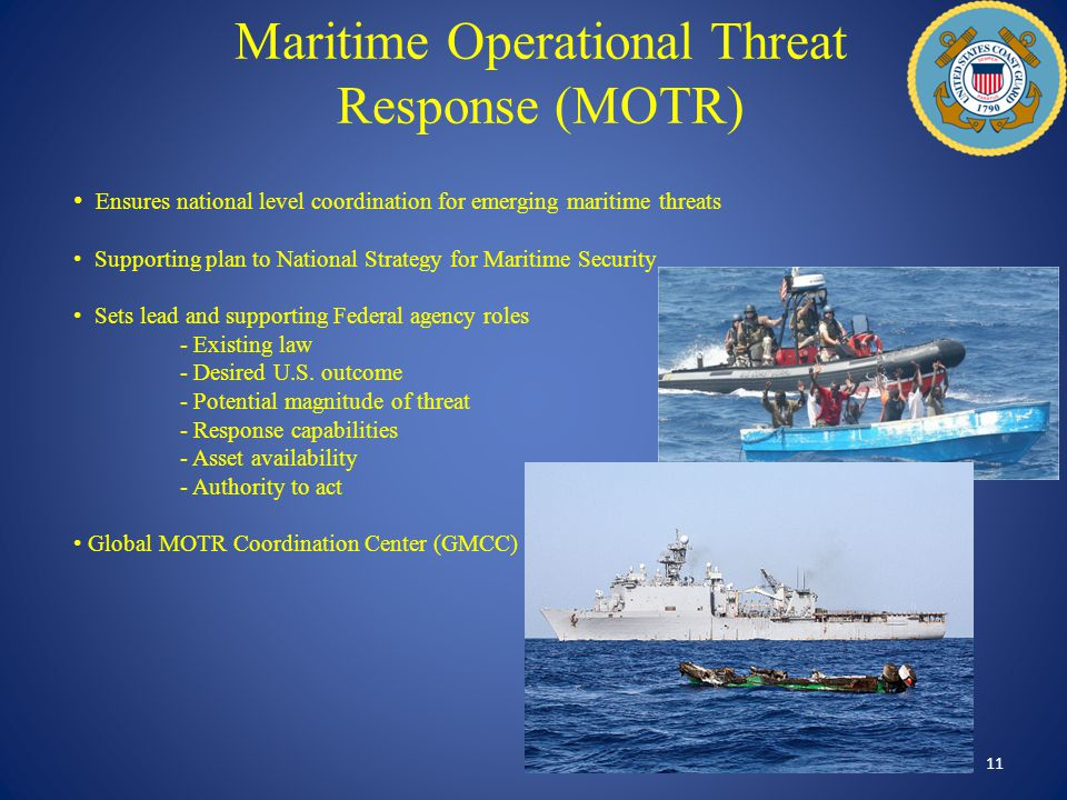 Maritime Operational Threat Response (MOTR)