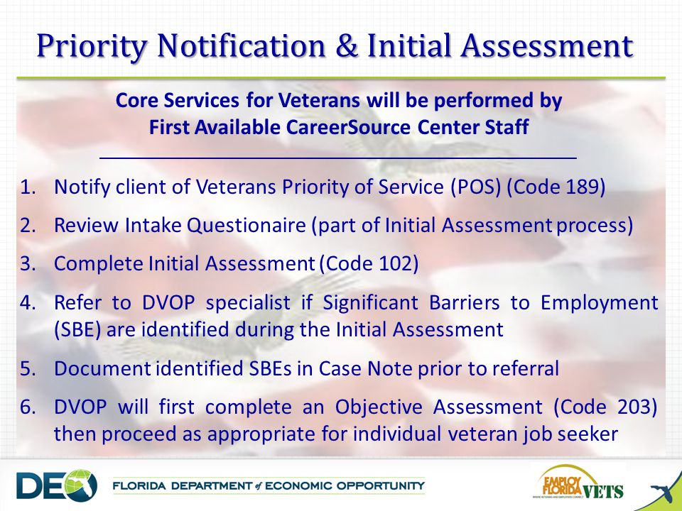 Priority Notification & Initial Assessment