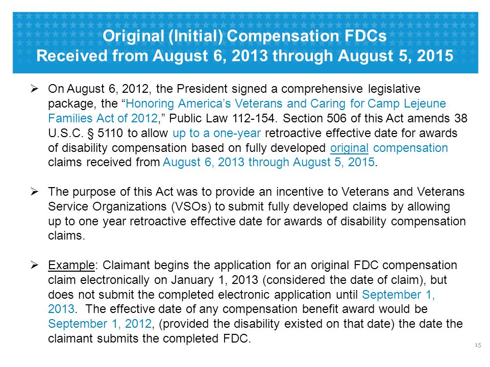 Other Benefits Processed in FDC Program on Other EZ Forms: