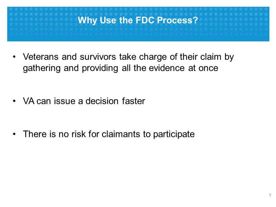 FDC Program vs. Standard Claim Process