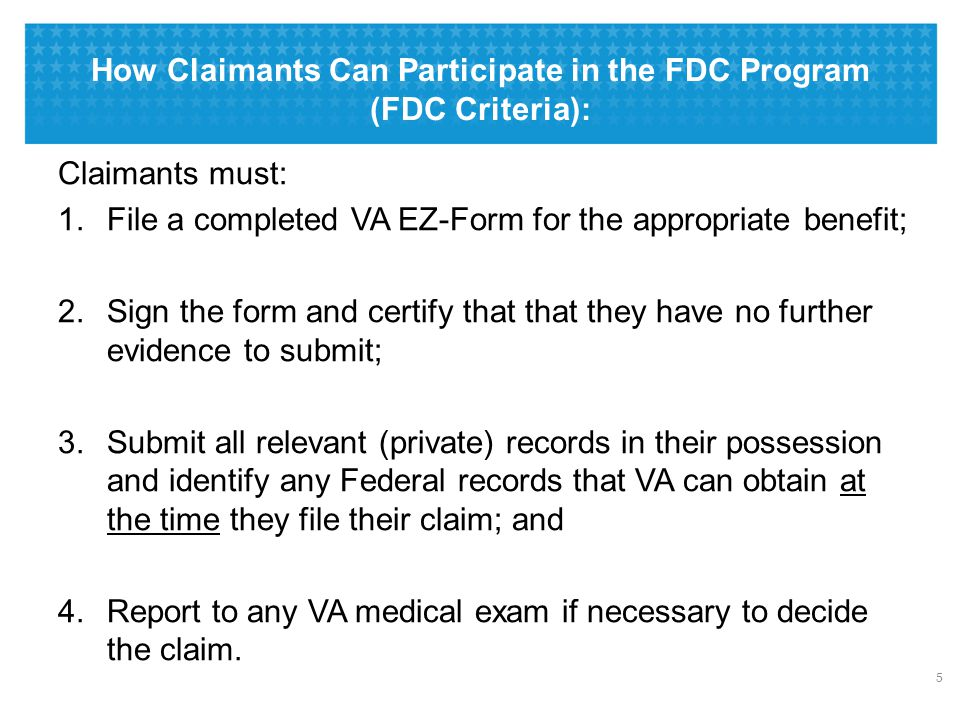 VA's Statutory Duty to Notify and to Assist