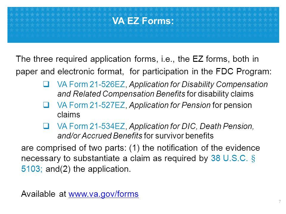 Fully Developed Claim (FDC) Program: Procedures & Advantages - ppt ...